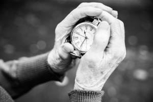 Die Zeit in meinen Händen...