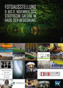 Poster Bezirksfotoschau 2013