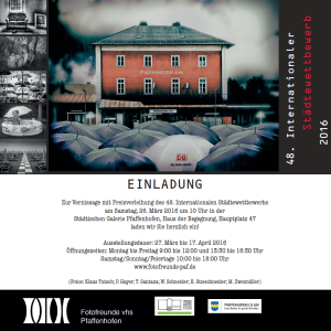 Einladung 48. internationaler Städtewettbewerb