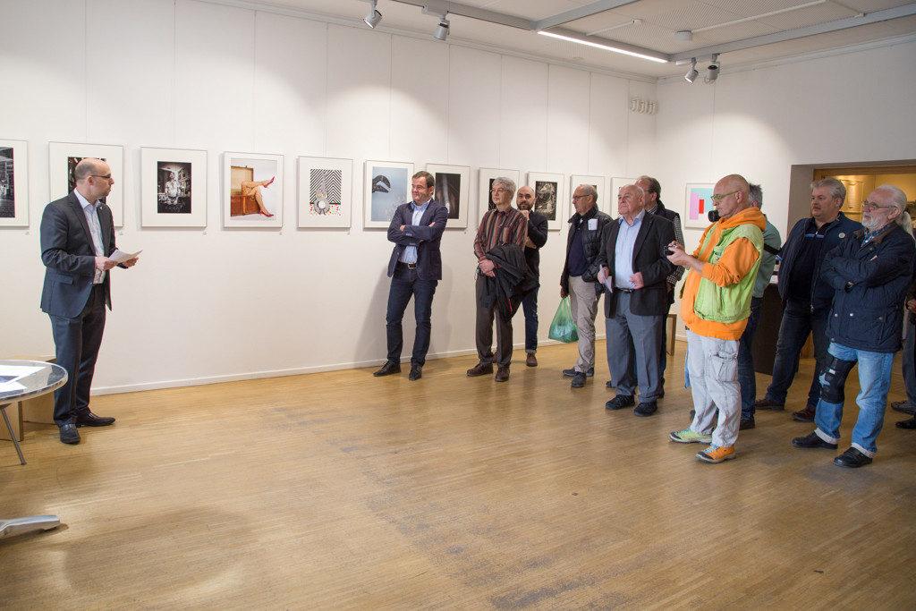 Eröffnung der Clubausstellung