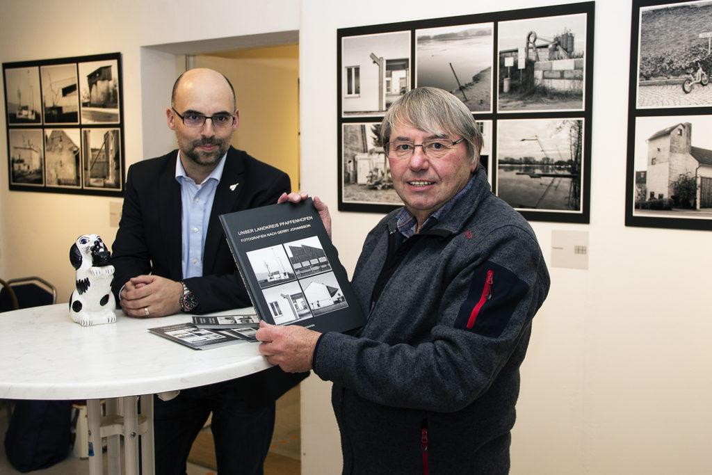 """Eröffnung der Ausstellung """"Unser Landkreis Pfaffenhofen – Fotografien nach Gerry Johansson"""""""