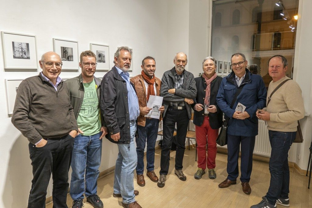 Besuch der Gerry Johansson Vernissage in München