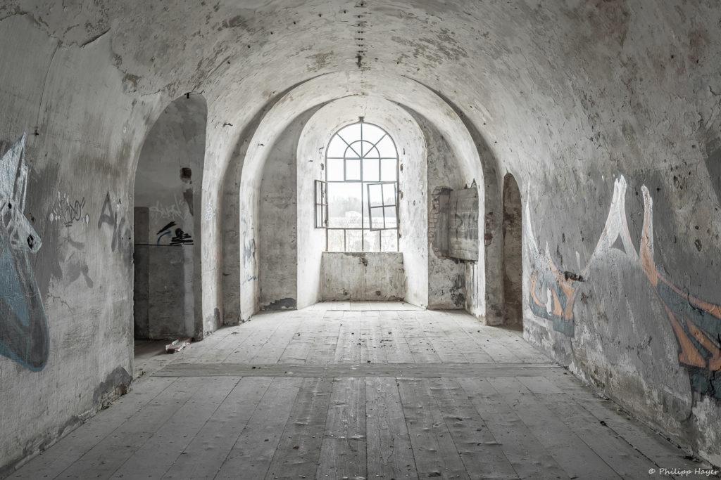Lost Place Fotografie mit der FOSBOS Ingolstadt