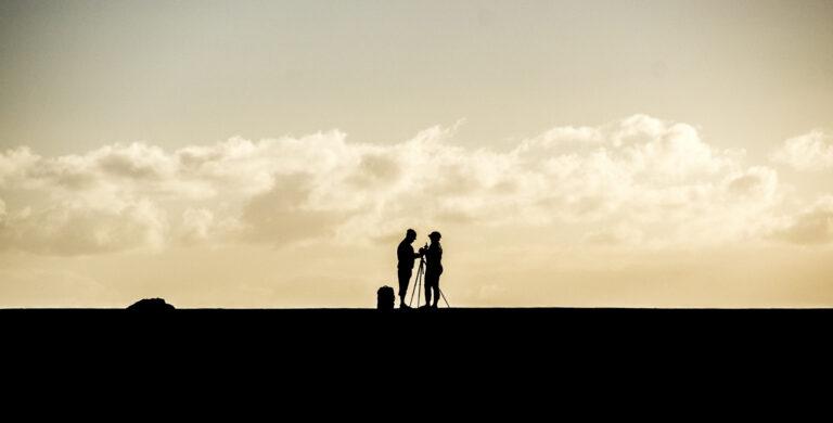 Schattenpaar